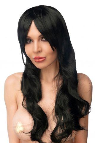Черный парик  Ая