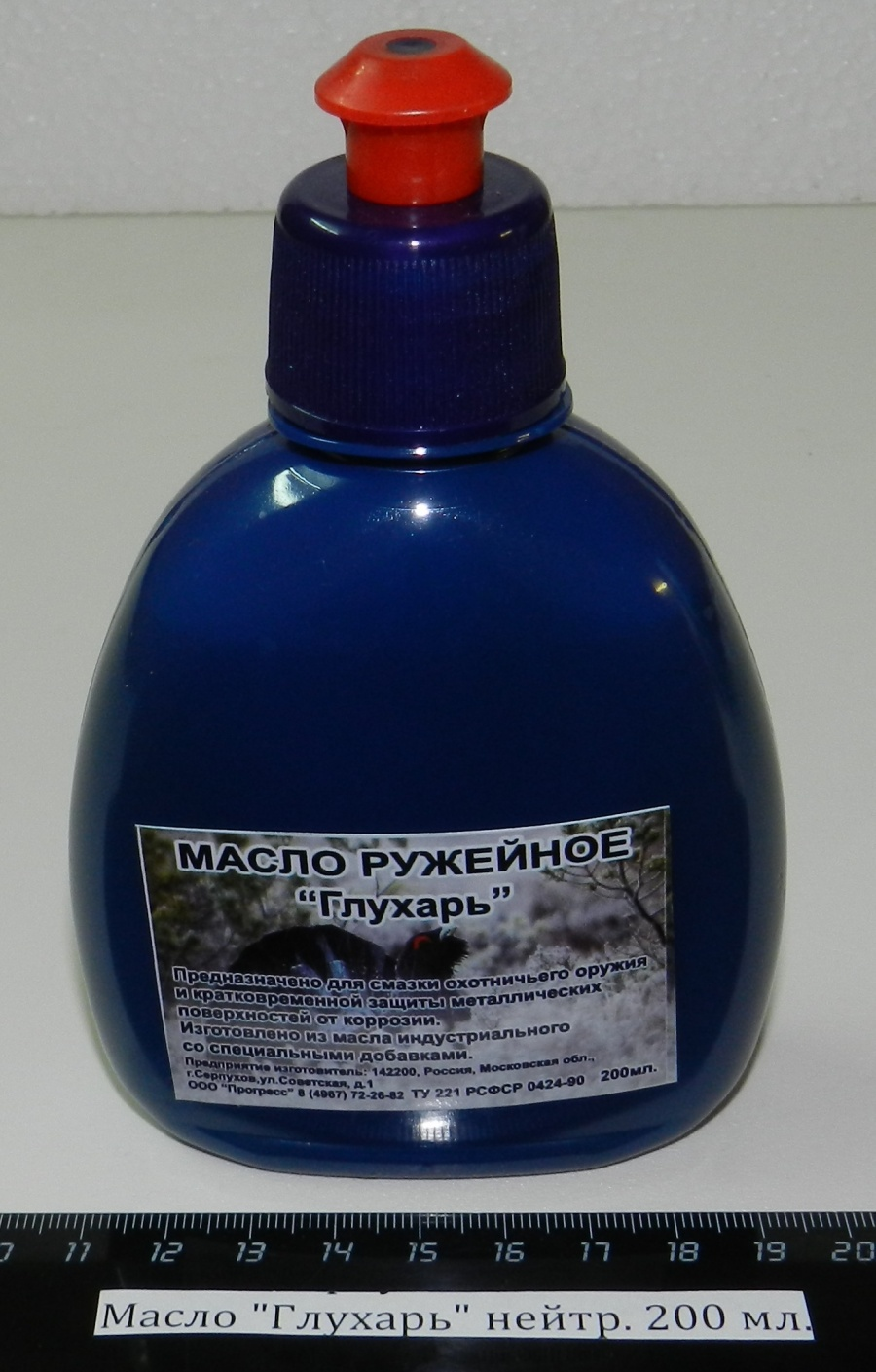 "Масло ""Глухарь"" нейтральный(200 мл.)"