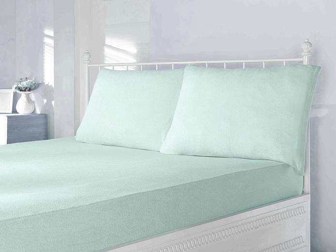 Простыни на резинке Простынь на резинке трикотажная зеленая  220х240  PENYE ПЭНЕ  Maison Dor Турция ПЕНИ_зеленый.jpg