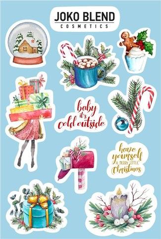 Новогодние фирменные наклейки Joko Blend (1)