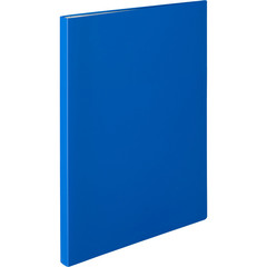 Папка файловая на 20 файлов Attache синяя