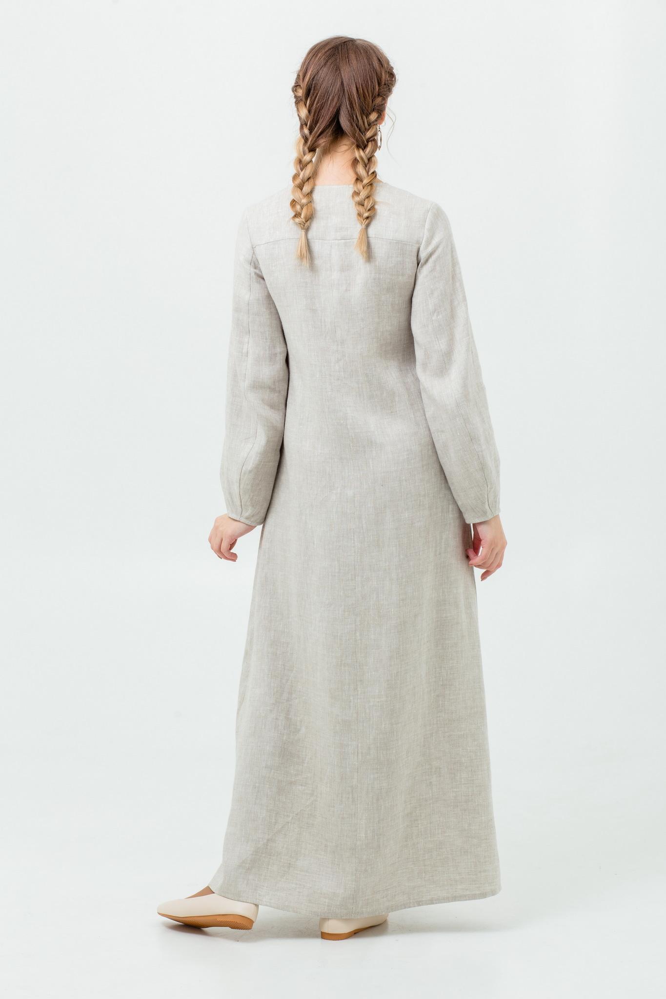 Славянское платье Сливочный щербет с доставкой