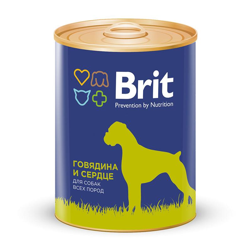 Brit Premium Консервы для собак, Brit Premium, с говядиной и сердцем e4f83acb889e24cee004381322db8bd4.jpg
