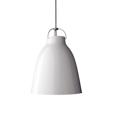Подвесной светильник копия Caravaggio by Fritz Hansen (D40, белый)