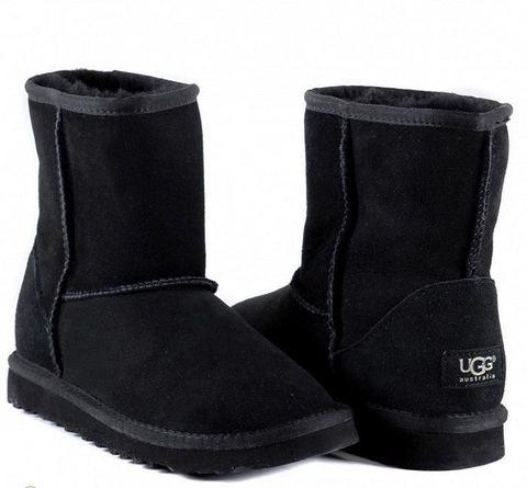 UGG Kids Classic Short Black