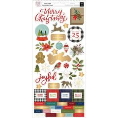 Наклейки Together For Christmas Cardstock Stickers 5.5