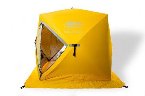 Зимняя палатка Tramp IceFisher 3 Thermo (желтый)