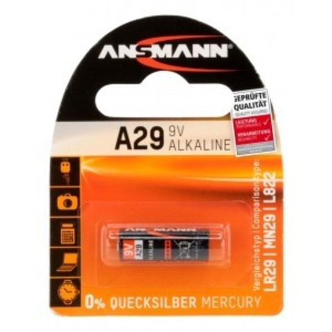 Батарейка A29 ANSMANN 9V