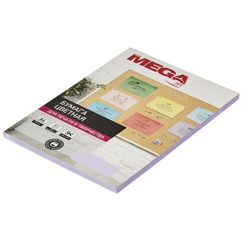 Бумага цветная для офисной техники Promega jet Pastel фиолетовая (А4, 80 г/кв.м, 50 листов)