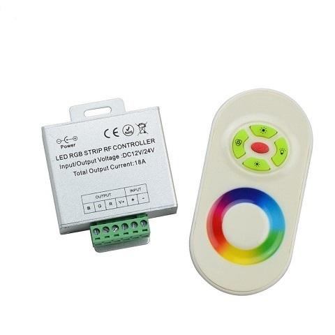Контроллер RGB 12/24V,18A с сенсорным пультом