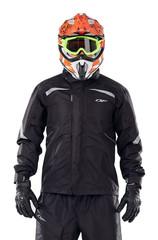 Куртка-дождевик Dragonfly EVO Black - мембрана
