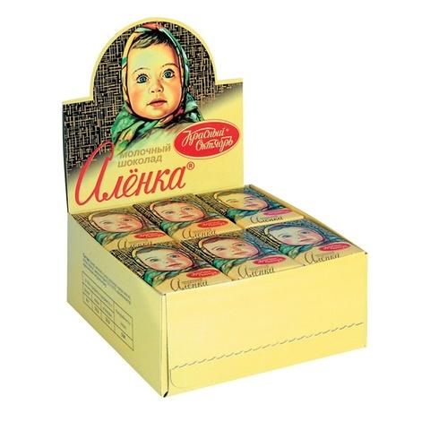 Шоколад порционный Аленка