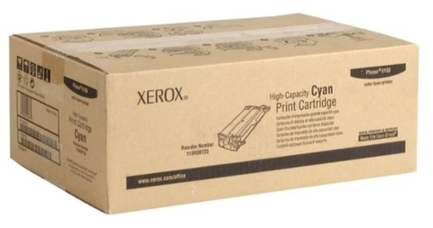 Оригинальный картридж Xerox 113R00723 голубой