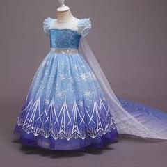 Нарядное платье Эльзы из м/ф
