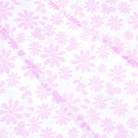Бязь плательная 150 см 1553/3А цвет розовый