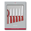 Набор Victorinox кухонный, 6 предметов, красный (подарочная упаковка)