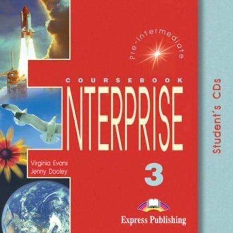 Enterprise 3. Student's Audio CDs. (set of 2). Pre-Intermediate. Аудио CD для работы дома