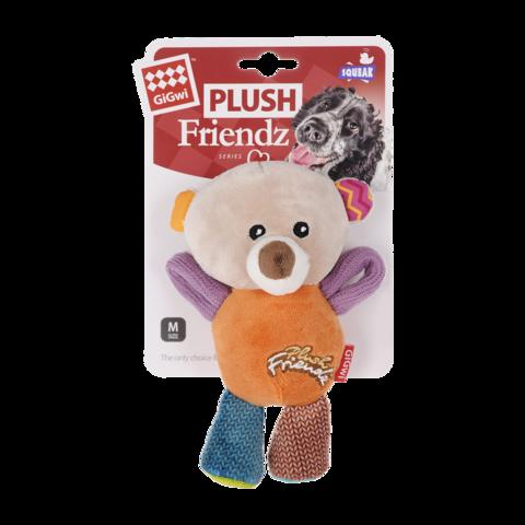 GiGwi Игрушка для собак Мишка с пищалками
