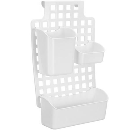 Органайзер кухонный навесной 38х29см 3 контейнера,пластик