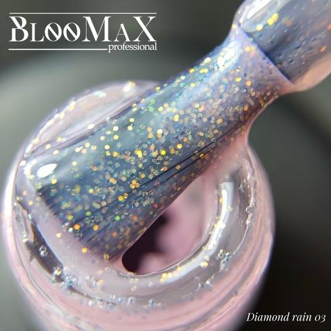 Гель лак с ароматом клубники Diamond Rain 03, 12 мл