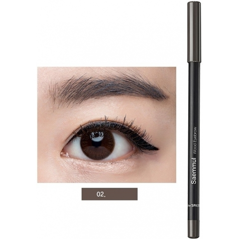 Карандаш для бровей The Saem Saemmul Artlook Eyebrow 03 Gray Brown серо-коричневый 0.2 гр
