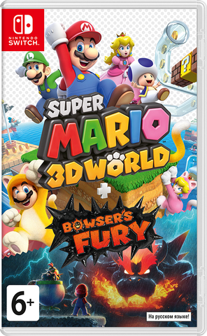 Super Mario 3D World + Bowser's Fury (Nintendo Switch, русская версия)
