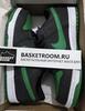 Nike SB Dunk Low 'Black/Green/White' (Фото в живую)