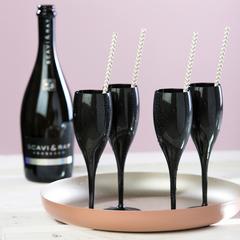 Набор бокалов для шампанского 4 шт