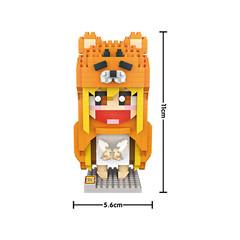 Конструктор LOZ Аниме Сяо Мей - медведица 650 деталей NO. 9751 Anime Xiao Mei bear iBlockFun Series