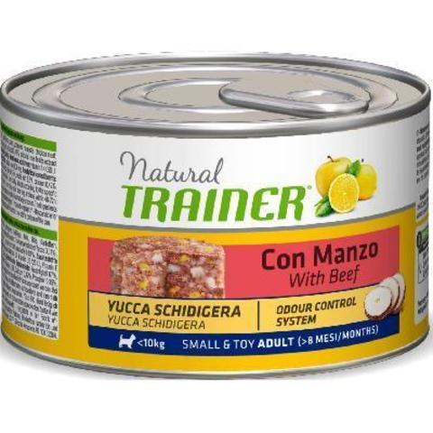 Влажный корм для собак TRAINER говядина, свинина, курица (для мелких пород)