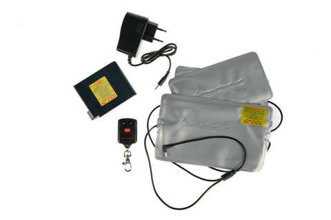 Греющий комплект RedLaika ЕСС ГК2 ДУ (2 модуля) с пультом управления для одежды