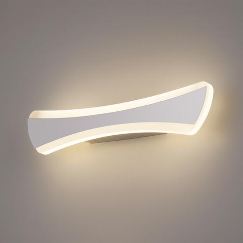 Wave LED хром Настенный светодиодный светильник MRL LED 1090