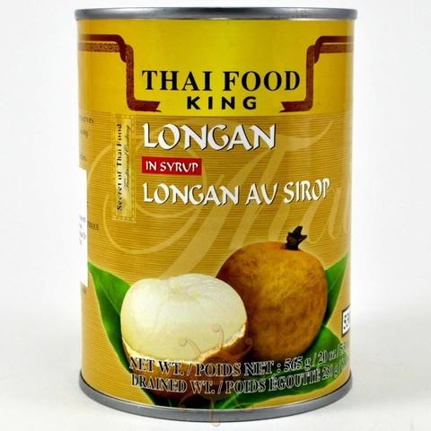 Лонган в сиропе Thai Food King 565 гр.