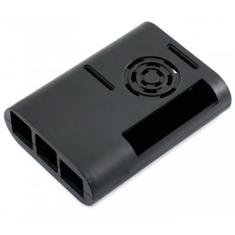 Овальный пластиковый корпус БЕЗ вентилятора для Raspberry Pi 4