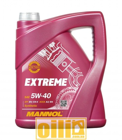Mannol 7915 EXTREME 5W-40 5л