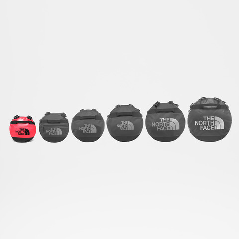 Картинка баул The North Face Base Camp Duffel Xs Red/Tn - 4