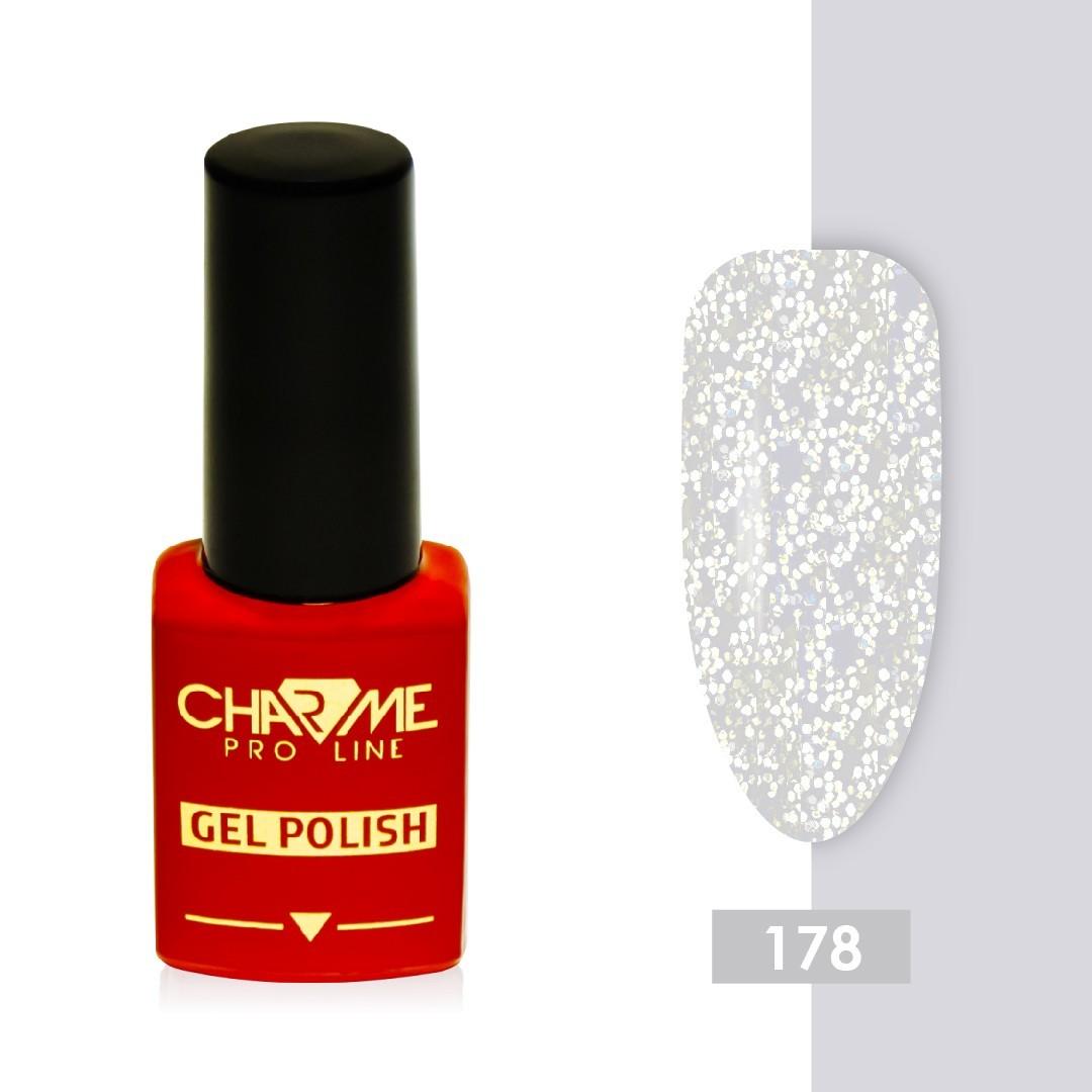 Гель-лак 178 - перламутровый жемчуг Charme 10 мл