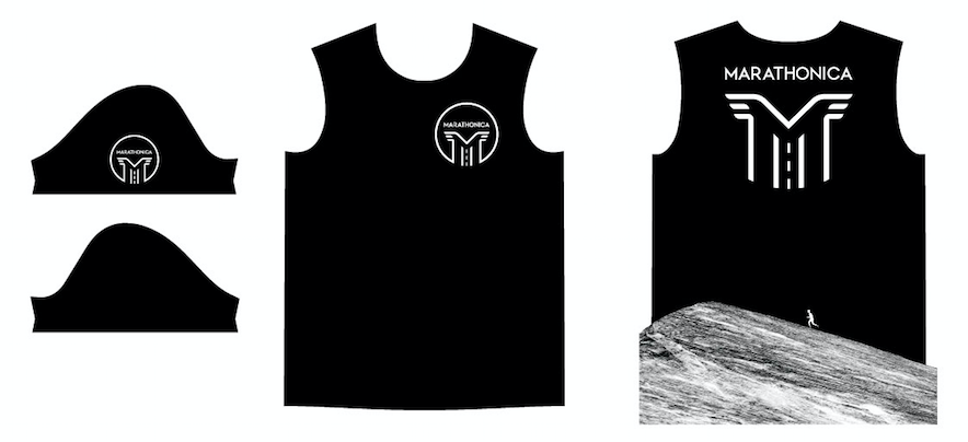 Футболка клубная GRi marathonica, черная, мужская