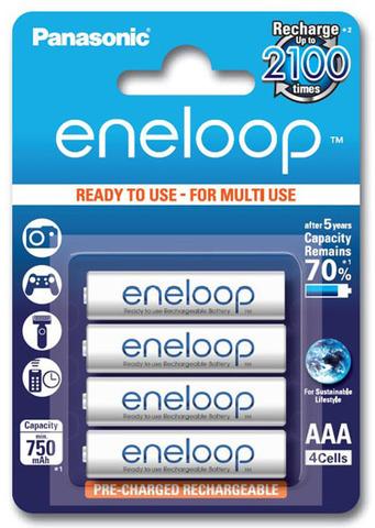 Аккумуляторы Panasonic Eneloop R3 /ААА 800mAh Bulk