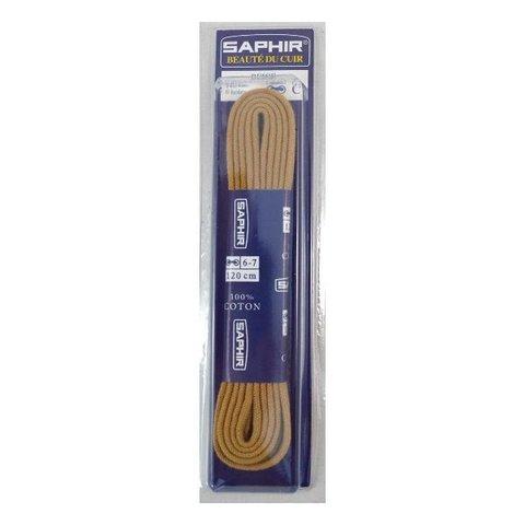 Шнурки круглые тонкие 120см.   (4 цвета) Saphir