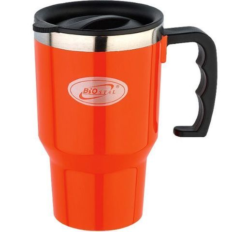 Кружка Biostal Авто (0,45 литра), оранжевая
