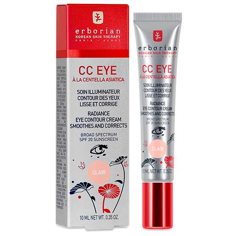 Erborian СС Клер корректирующий крем для кожи вокруг глаз CC Eye Clair Radiance Eye Contour Cream