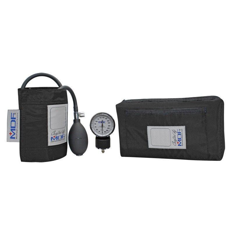 Профессиональный механический ручной тонометр для измерения давления (черного цвета)