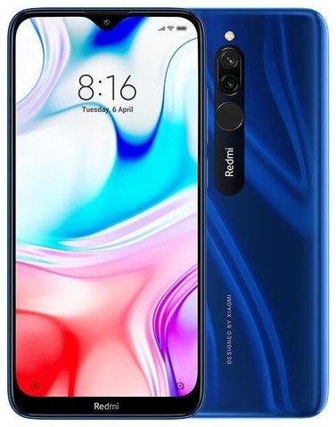 Смартфон Xiaomi Redmi 8  3/32Gb Blue EU (Global Version)