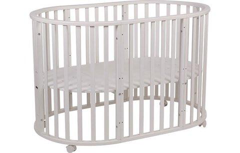 Кроватка детская Polini Kids Simple 905, белый