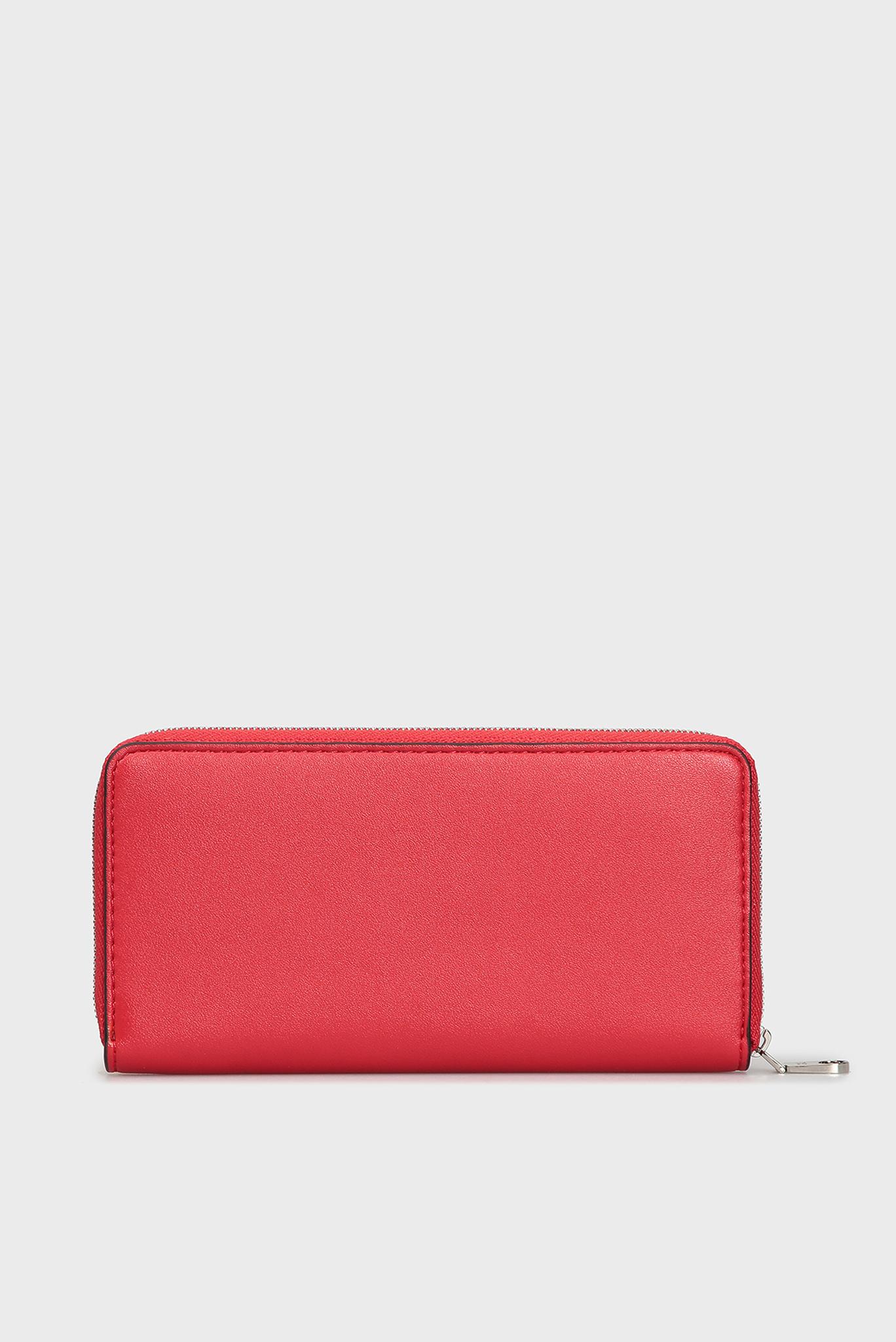 Женский красный кошелек Calvin Klein