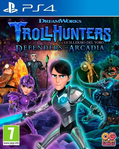 TROLLHUNTERS: Defenders of Arcadia (PS4, русские субтитры)