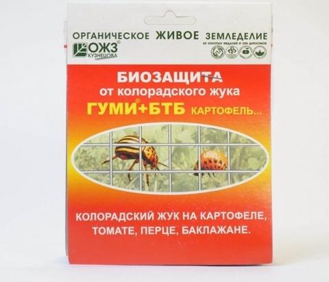 Гуми+БТБ-Картофель Биозащита от колорадского жука
