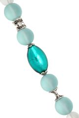 Ожерелье Onda del mare цвет изумрудный