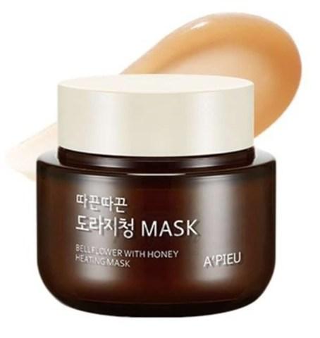 A'Pieu Bellflower With Honey Heating Mask согревающая маска с мёдом и корнем колокольчика